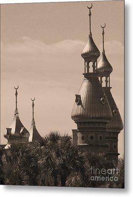 Tampa Minarets  Metal Print by Carol Groenen