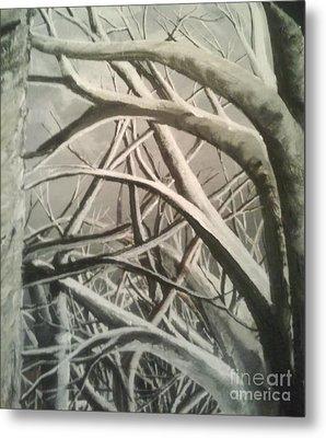 Tangle Metal Print by Erik Coryell