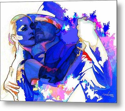 Tango Argentino - Pride And Devotion Metal Print by Reno Graf von Buckenberg