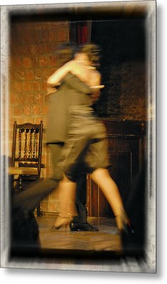Tango Connection Metal Print by Steven Boone