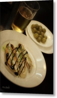 Tapas In Seville Metal Print by Mary Machare