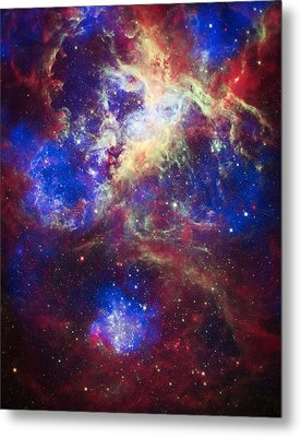 Tarantula Nebula 2 Metal Print by The  Vault - Jennifer Rondinelli Reilly