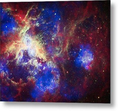 Tarantula Nebula 6  Metal Print by The  Vault - Jennifer Rondinelli Reilly
