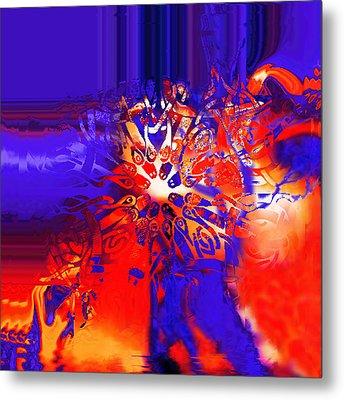Target Metal Print by Vagik Iskandar