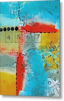 Tarot Art Abstract Metal Print by Corporate Art Task Force