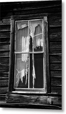 Tattered And Torn Metal Print by Cat Connor