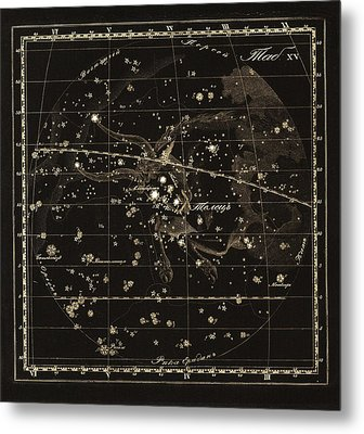 Taurus Constellation, 1829 Metal Print by Science Photo Library