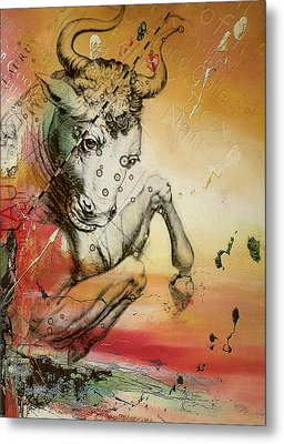 Taurus  Metal Print by Corporate Art Task Force