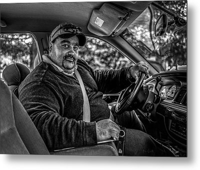 Taxi Driver Metal Print by Bob Orsillo