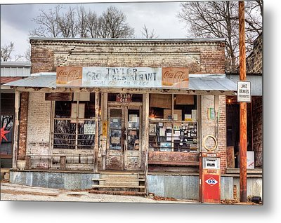 Taylor Mississippi Metal Print by JC Findley