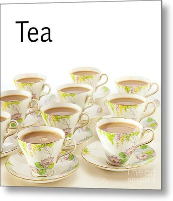 Tea Concept Metal Print by Colin and Linda McKie