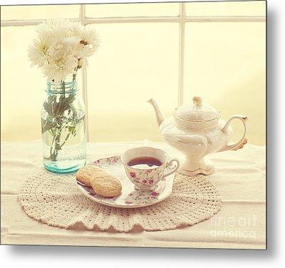 Tea Time Metal Print by Kay Pickens
