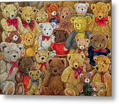 Ted Spread Metal Print by Ditz