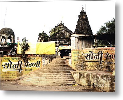 Temple In India Metal Print by Sumit Mehndiratta