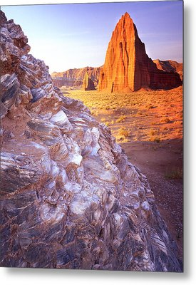 Temple Of The Sun Metal Print by Ray Mathis
