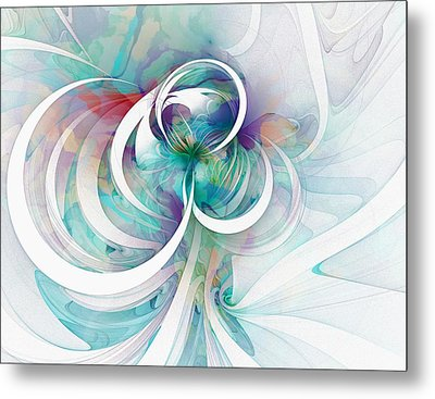 Tendrils 03 Metal Print by Amanda Moore