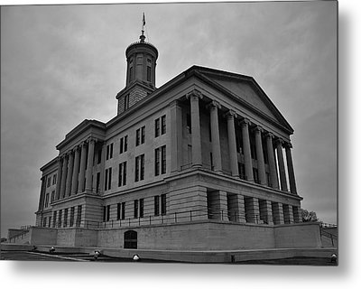 Tennessee State Capitol Building Metal Print by Steven Richman