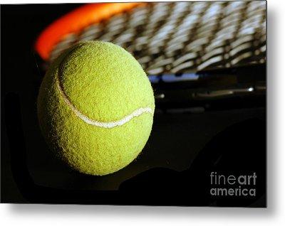Tennis Equipment Metal Print by Michal Bednarek
