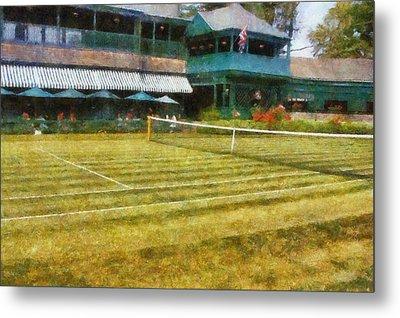 Tennis Hall Of Fame - Newport Rhode Island Metal Print by Michelle Calkins