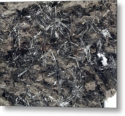 Tenorite Mineral Crystals Metal Print by Science Photo Library