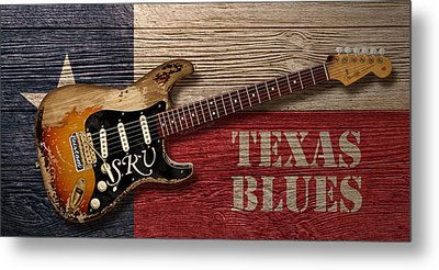 Texas Blues Metal Print by WB Johnston