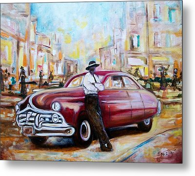 The 1950 Metal Print by Emery Franklin