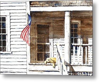 The 5th Of July Metal Print by William Beaupre