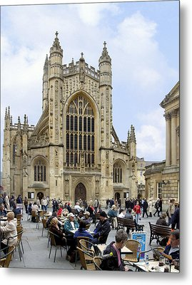 The Abby At Bath Metal Print by Mike McGlothlen