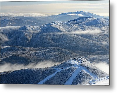 The Adirondacks Metal Print by Bernard Chen
