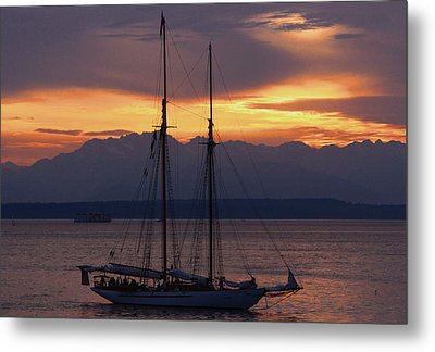 The Adventuress Cruise Metal Print by Kym Backland