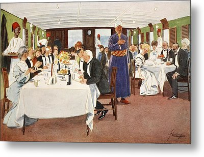 The After-dinner Speech, From The Light Metal Print by Lance Thackeray