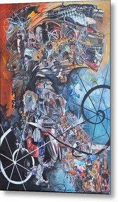The Agent Metal Print by Hasaan Kirkland