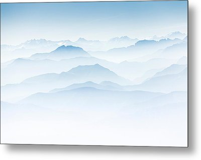 The Alps Metal Print by Bjoern Kindler