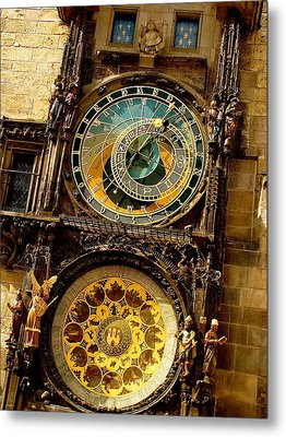 The Ancient Of Clocks Metal Print by Ira Shander