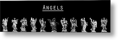 The Angels Of Rome Metal Print by Fabrizio Troiani