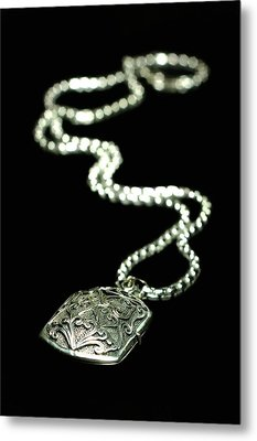 The Antique Locket Metal Print by Diana Angstadt