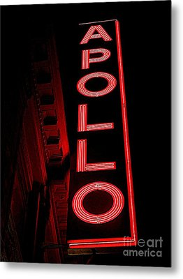 The Apollo Metal Print by Ed Weidman