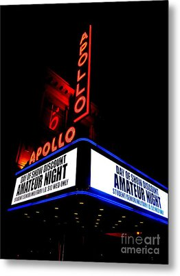 The Apollo Theater Metal Print by Ed Weidman