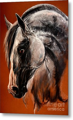 The Arabian Horse Metal Print by Angel  Tarantella