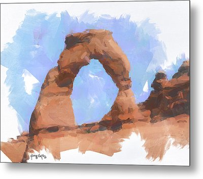 The Arch Metal Print by Greg Collins
