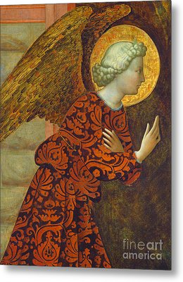 The Archangel Gabriel Metal Print by Tommaso Masolino da Panicale