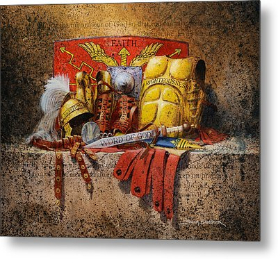 The Armour Of God Metal Print by Graham Braddock