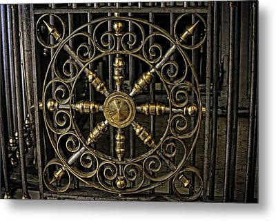 The Art Of A Vault Metal Print by Image Takers Photography LLC - Carol Haddon