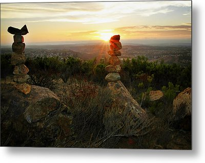The Art Of Cairns Metal Print by Christine Till