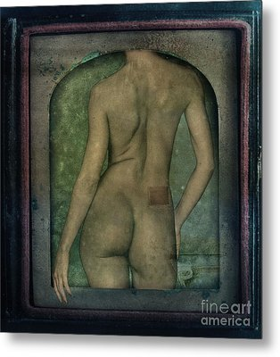 The Art Of Illusion Metal Print by Andrea Kollo