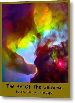 The Art Of The Universe 266 Metal Print by The Hubble Telescope