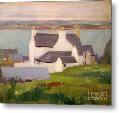 The Artists Studio Iona Metal Print by Francis Campbell Boileau Cadell
