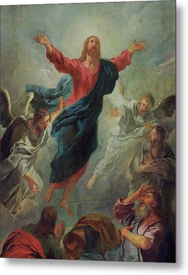 The Ascension Metal Print by Jean Francois de Troy