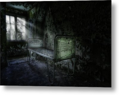 The Asylum Project - Seven Metal Print by Erik Brede