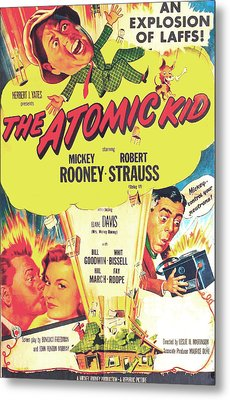 The Atomic Kid, Us Poster, Mickey Metal Print by Everett